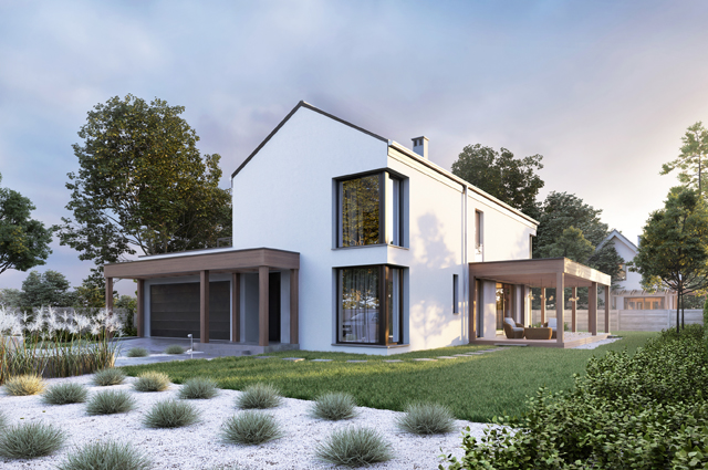 projekt domu Dax