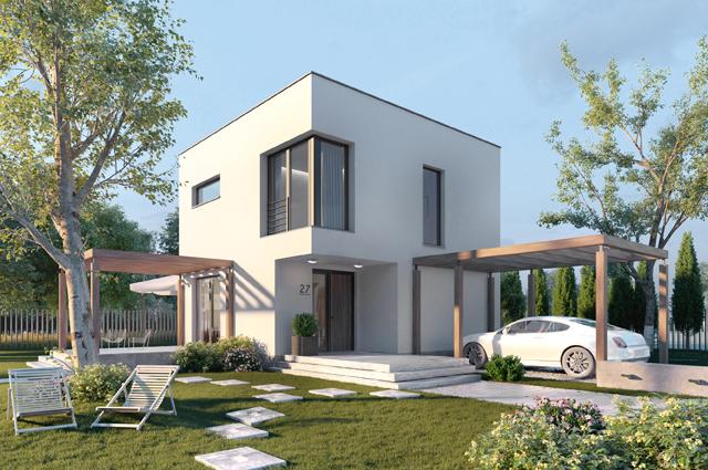 projekt domu STARTUP