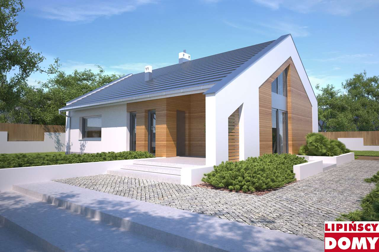 projekt domu Franklin III lmb101b Lipińscy Domy