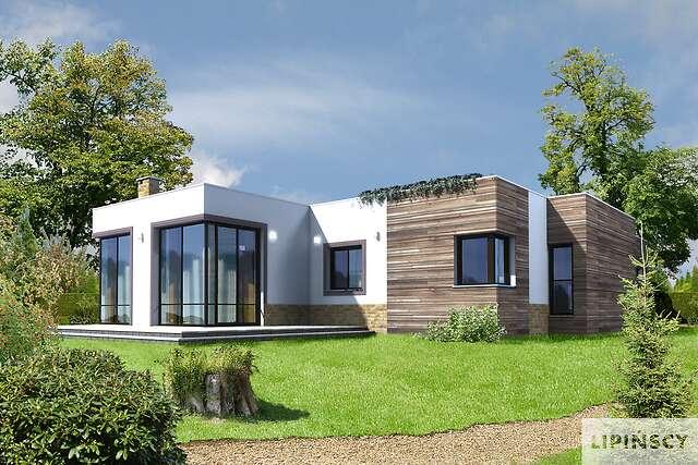 Zobacz powiększenie wizualizacji ogrodowej - projekt Luksemburg