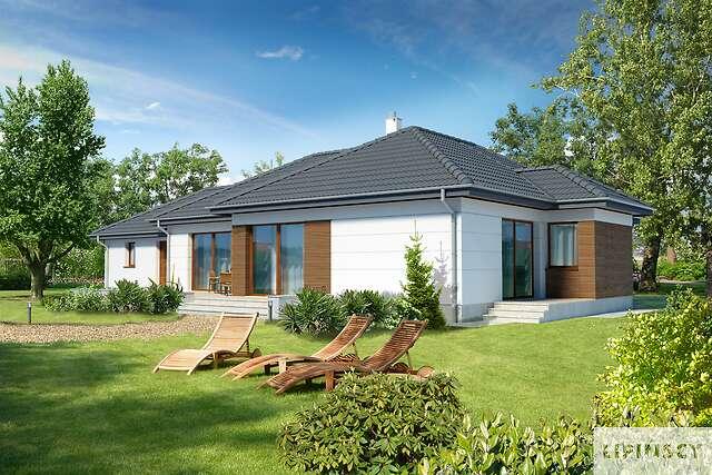 Zobacz powiększenie wizualizacji ogrodowej - projekt Somerset