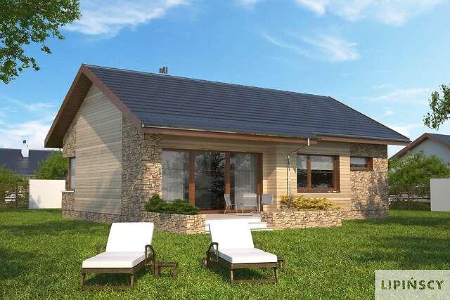 Zobacz powiększenie wizualizacji ogrodowej - projekt Royan