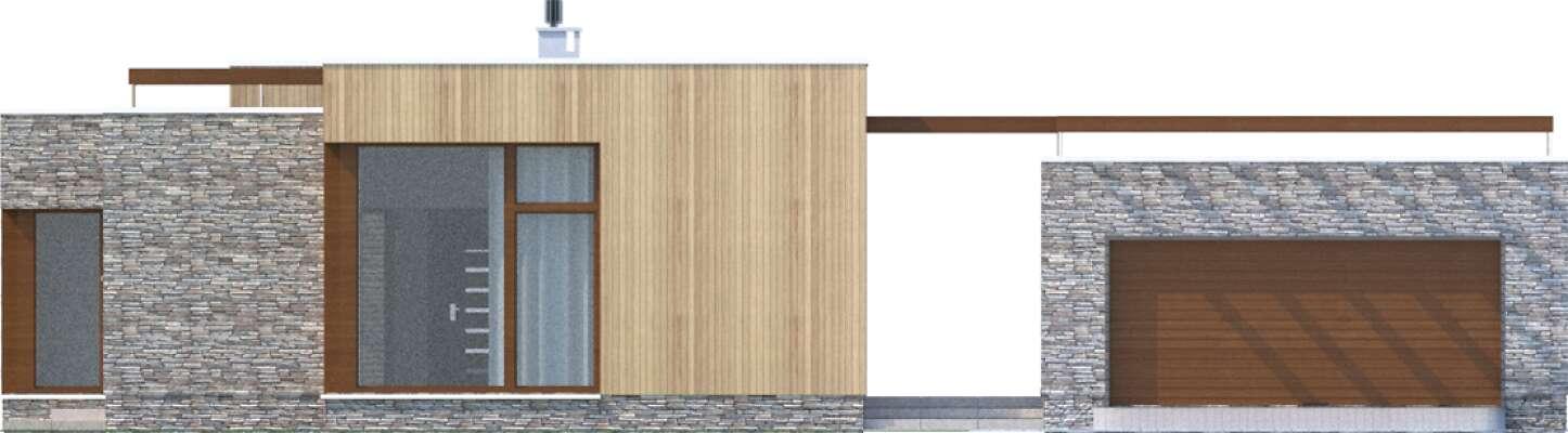 Elewacja frontowa - projekt Villach