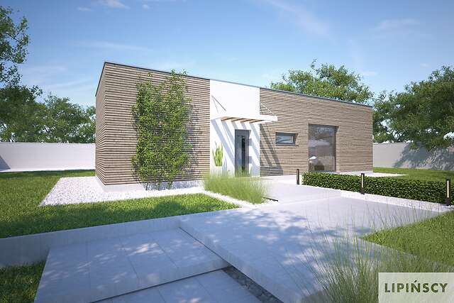 Projekt domu - DCB134-Praia