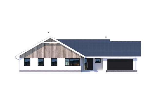 Zobacz powiększenie elewacji frontowej - projekt Noordwijk