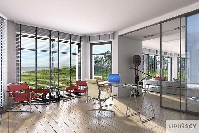 Zobacz powiększenie wizualizacji wnętrza - projekt Sondenberg