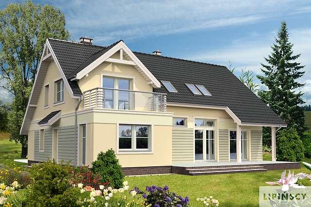 Zobacz powiększenie wizualizacji ogrodowej - projekt Heidelberg II