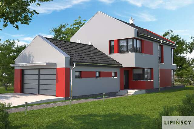 Zobacz powiększenie wizualizacji frontowej - projekt Rennes