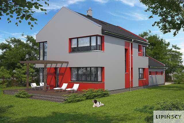 Zobacz powiększenie wizualizacji ogrodowej - projekt Rennes