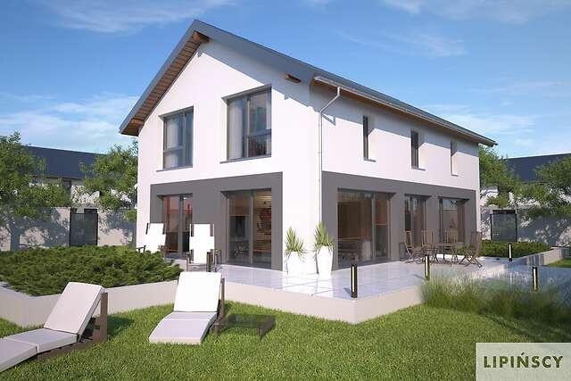 Zobacz powiększenie wizualizacji ogrodowej - projekt Bergamo III