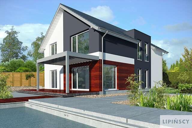 Zobacz powiększenie wizualizacji ogrodowej - projekt Grenoble II