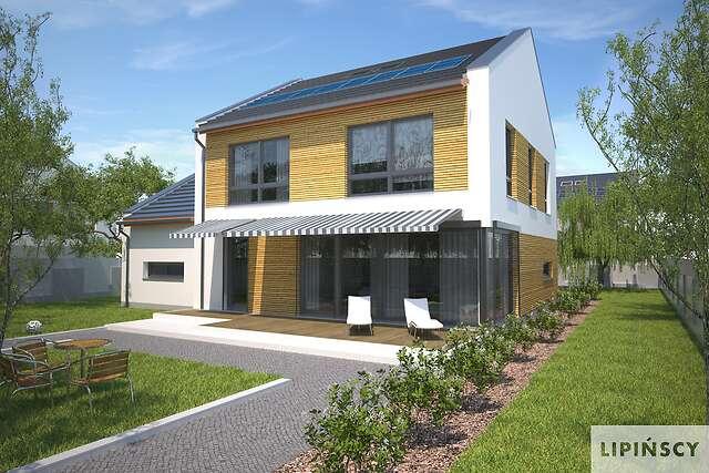 Zobacz powiększenie wizualizacji ogrodowej - projekt Skagen II