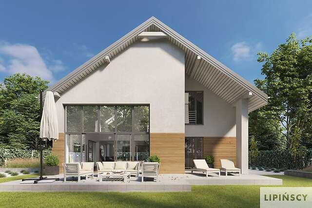Zobacz powiększenie wizualizacji detalu - projekt Sligo Pasywny 9