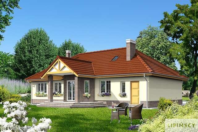 Zobacz powiększenie wizualizacji ogrodowej - projekt Praga III