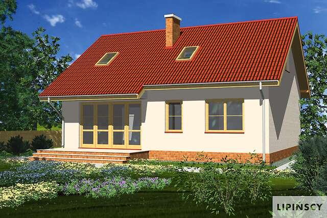 Zobacz powiększenie wizualizacji ogrodowej - projekt Tuluza
