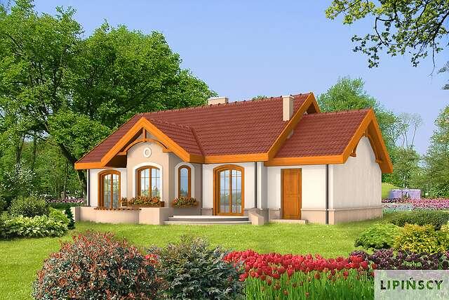 Zobacz powiększenie wizualizacji ogrodowej - projekt Sofia II