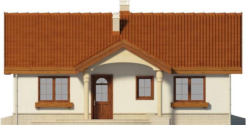 Elewacja frontowa - projekt Sintra