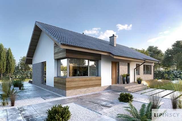 Projekt domu - LMB115-Arosa