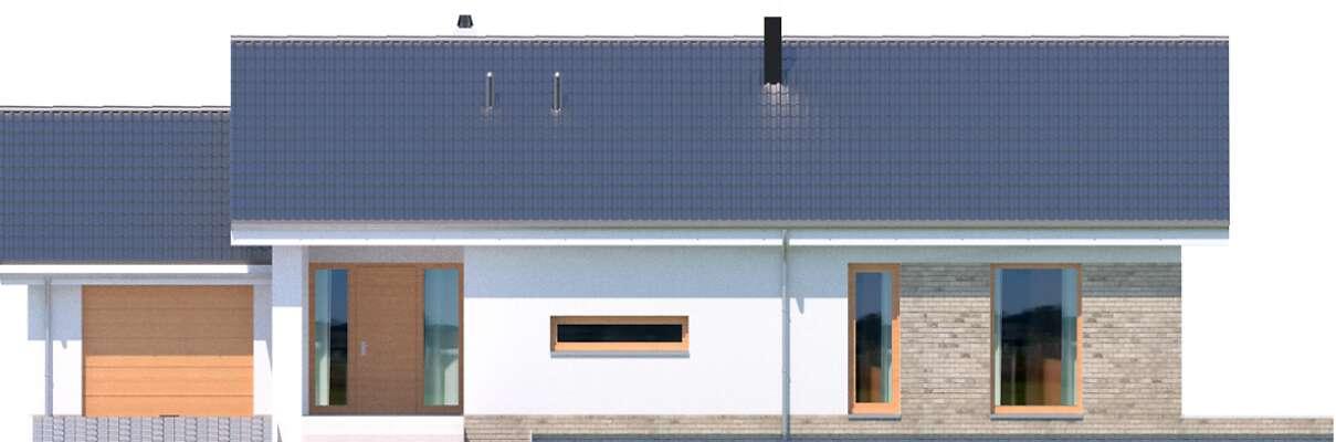 Elewacja frontowa - projekt Rimini