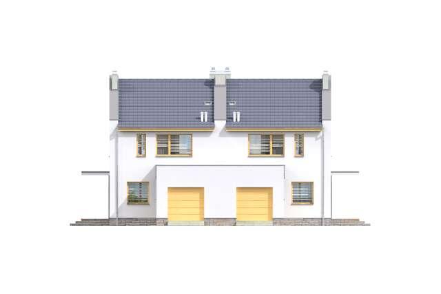 Zobacz powiększenie elewacji frontowej - projekt Norwich