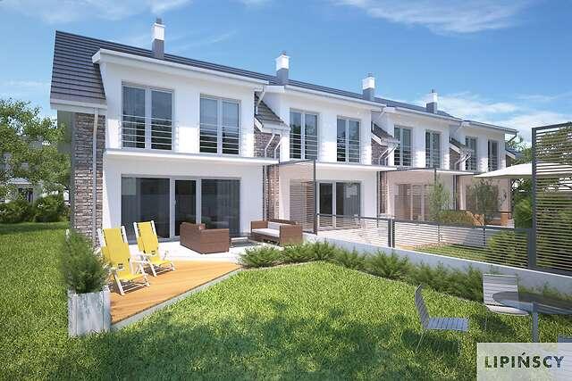 Zobacz powiększenie wizualizacji ogrodowej - projekt Clermont