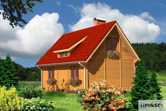 Zobacz powiększenie wizualizacji ogrodowej - projekt Oberstdorf