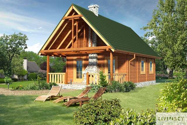 Zobacz powiększenie wizualizacji ogrodowej - projekt Lahti